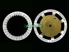 2 Sets Replacement Date Day Disc 0235 For ETA 2824-2 2836-2 parts 2557/1