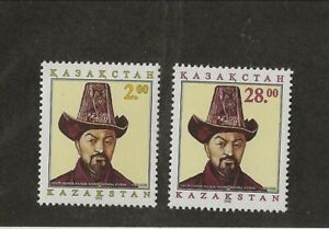 KAZAKHSTAN Sc 120-21 NH issue of 1995 - COMPOSER