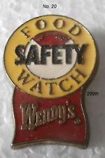 WENDY'S  Employee  Service Pin  #20