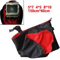 Camera Wrapping 5×7, 4×5, 8×10 120 Large Format Dark Clothing Focusing Hood