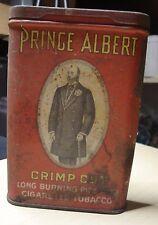 Prince Albert Crimp Cut CigaretteTobacco Tin