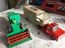 Matchbox lesney king size lot k9 harvester k19 dodge tractor horse van