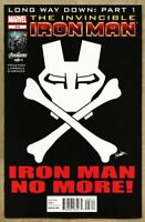 Invincible Iron Man #516-2012 nm- 9.2 Ms Marvel Carol Danvers Captain America