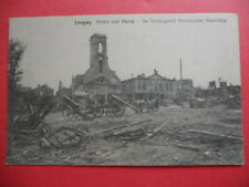 LONGWY  :  L'Église et la Mairie.......VO.1915.