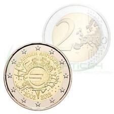 Grèce 2012-commémo 2eur-Dix Ans de l'euro-UNC