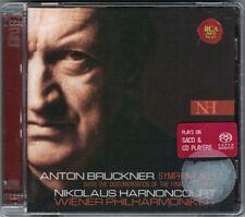 SACD+CD Nikolaus HARNONCOURT: BRUCKNER Symphony No.9 + Wie ein Stein vom Mond