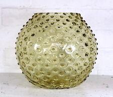 A Large Vintage Retro 1960s 1970's Borske SKLO Bobble Ball Glass Vase Czech