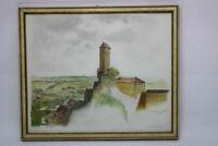 Hermann Gradl 1883 - 1964 Zeichnung / Aquarell Burg Veldenstein1941