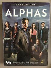Alphas: Season One (DVD, 2012, 3-Disc Set)
