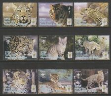 Niger - 1998, Animals of the World - Leopards, Wild Cat, Tiger, Lynx set - MNH