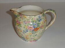 Royal Winton Chintz Dutch 16oz Jug Floral Feast Pattern 1930