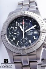 Breitling Super Avenger Titan Chronograph E13360 Full Set Box Papiere