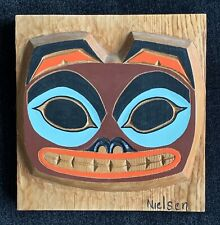 Pacific Northwest Face Carving by Nielsen