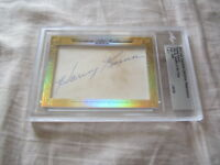 Harvey Kuenn 2017 Leaf Masterpiece Cut Signature 1/1 autographed signed card JSA