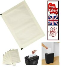 More details for shredder sharpening & lubricant sheets - pack of 12 free and fast delivery uk
