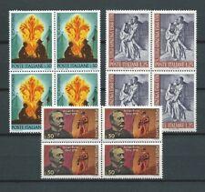 ITALIE - 1968 YT 1012 à 1014 blocs de 4 - TIMBRES NEUFS** MNH LUXE