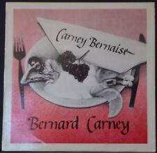 BERNARD CARNEY - CARNEY BERNAISE '83 TEMPO RECORDS TP112 PERTH FOLK