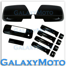 07-13 TOYOTA TUNDRA CREWMAX Black Mirror+4 Door Handle no PSGKH+Tailgate Cover