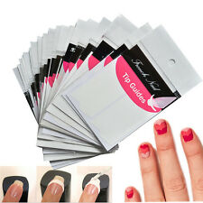16 sheets stickers kit french manucure guide ongles nail art