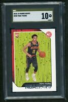 2018 Panini NBA Hoops Trae Young rookie SGC 10 GOLD LABEL - Hawks COMP PSA POP 1