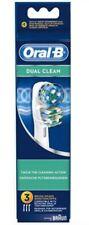 3 Brossettes Dual Clean EB417 pour brosse à dents Braun - Oral B
