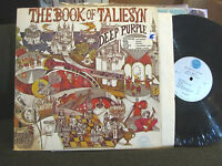 DEEP PURPLE Book of Taliesyn lp 1968 Tetragrammaton T-107 psych rock vinyl rare!