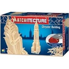 Chrysler Building Matchitecture Matchstick Craft Model Kit NEW
