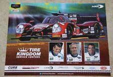 2015 Michael Shank Racing Honda Ligier P2 Sebring IMSA postcard Justin Wilson