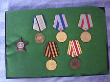 WW2 SOVIET RUSSIA - MINE CLEARING - ORDER OF RED STAR GALLANTRY GROUP + RESEARCH