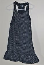 babyGAP Size 3 Years Blue Polka Dot  Ruffles Sleeveless Dress
