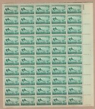 {BJ Stamps}  #936  US Coast Guard---WW II.  MNH 3¢ sheet of 50.   Issued in 1945