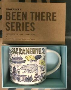 Starbucks Coffee Been There Series 14oz Mug SACRAMENTO Cup w/SKU