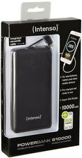 Intenso Powerbank mobile Ladestation Slim S 10000 mAh 2x USB OUT schwarz