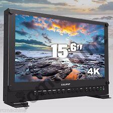 "Lilliput BM150-4K 15.6"" Broadcast Ultra-HD Monitor SDI,HDMI,VGA,TALLY V-mount"