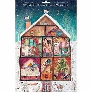 Roger la Borde Christmas House Advent Calendar