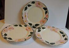 """3 Villeroy & Boch Wild Rose Salad Plates 8 1/4"""""""