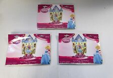 Pack of 3 Disney Princess Super Shape Castle Foil Balloons - Kids Party Balloon