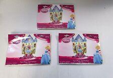 Confezione di 3 Principesse Disney Super Shape Castello Foil Balloons-BAMBINI FESTA PALLONE