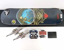 "Powell Peralta 8"" Mighty Pool Skateboard Complete Indy 139 Trucks Bones Wheels"