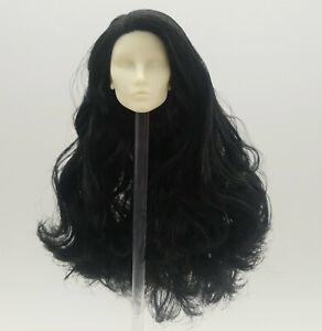 Fashion Royalty black hair elise elyse jolie integrity pink hair doll head ooak