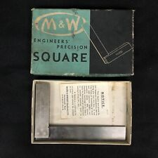 Moore Amp Wright No 400 4 Engineers Precision Square Machinist Tool England