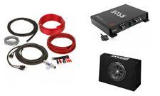 "KICKER 43TC104 10"" 300W Loaded Subwoofer Enclosure + Monoblock Amp & Amp Kit!"