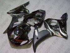 ABS Black&Silver R6 Fairing Bodywork Injection Kits For Yamaha YZF R6 2003-2004