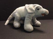 "FAO Schwarz Plush Dinosaur Stuffed Animal Protoceratops Gray Blue Grey 10"""
