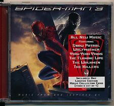Spiderman 3 - Original Soundtrack cd promo with Limited edition card inside.