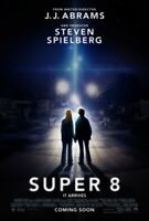 Poster Super 8 Jj Abrams Steven Spielberg Sci Fi #3
