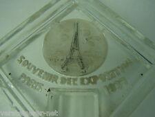 """Aschenbecher """"Souvenir del` Exposition Paris 1937"""" Weltausstellung, Ascher"""