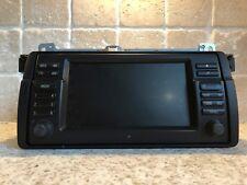 BMW E46 3 m³ pantalla ancha navegación Zb Bordmonitor SERIES Sat Nav Satélite 16:9