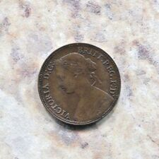 GREAT BRITAIN - FANTASTIC HISTORICAL QV FARTHING, 1860, BEADED BORDER