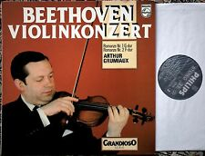 Arthur Grumiaux Beethoven Violin Concerto - Romances Nos.1 & 2 Philips 6570 051
